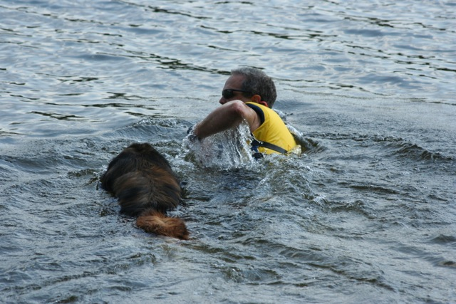 Swim with Handler